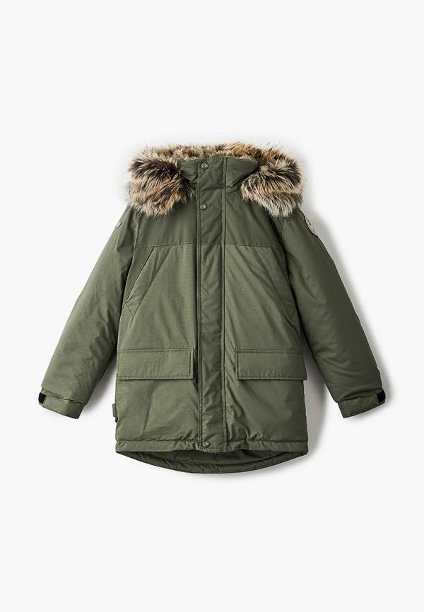 куртка kerry для мальчика, хаки