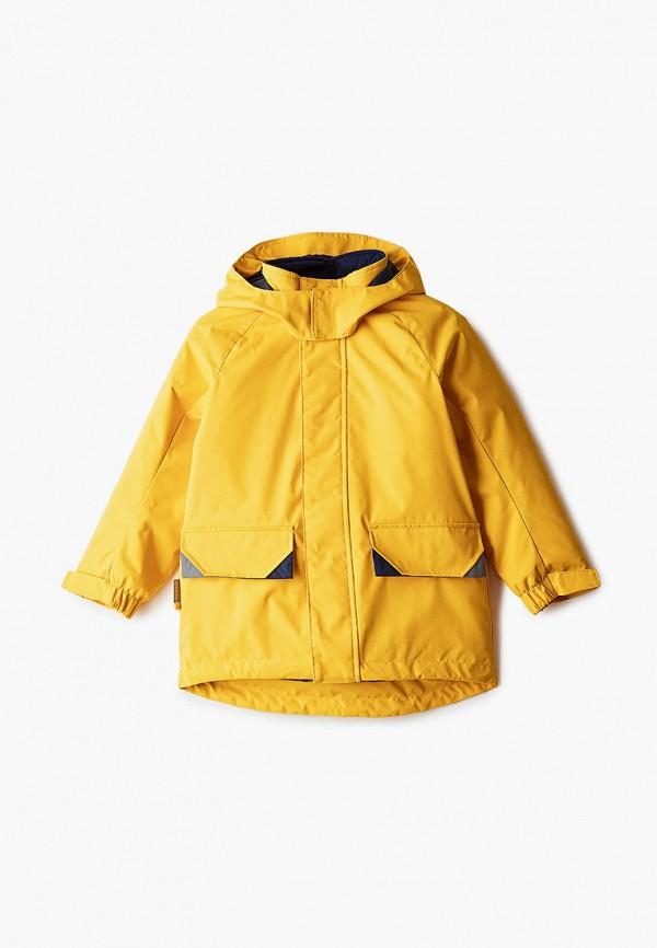 куртка kerry для мальчика, желтая
