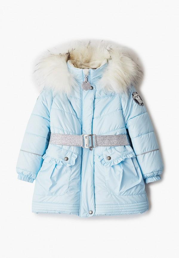 куртка kerry для девочки, голубая