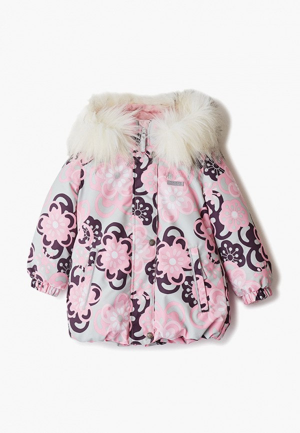 куртка kerry для девочки, разноцветная