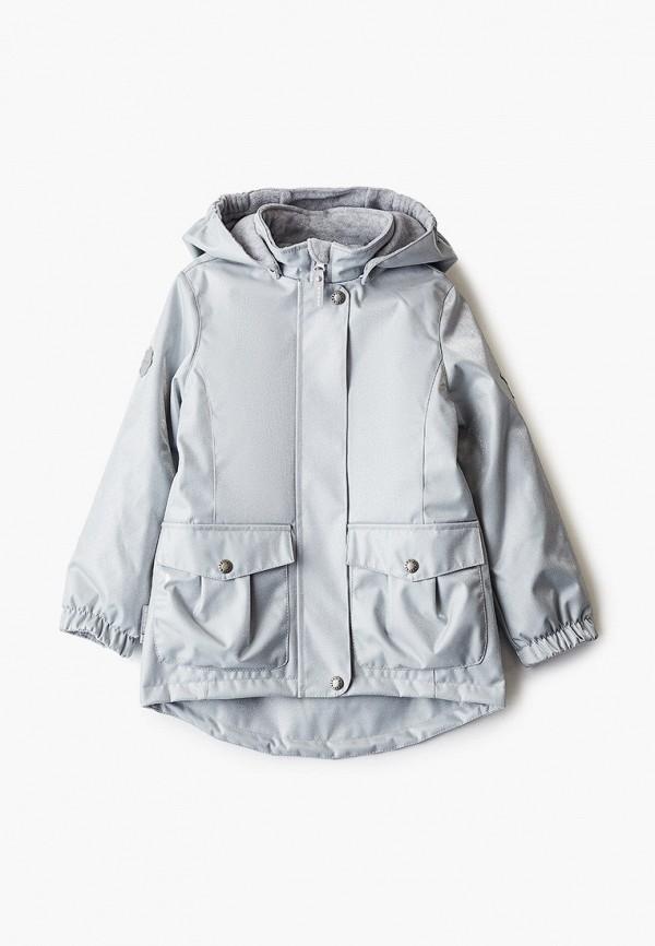 утепленные куртка kerry для девочки, серая