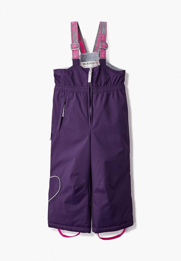 брюки kerry для девочки, фиолетовые