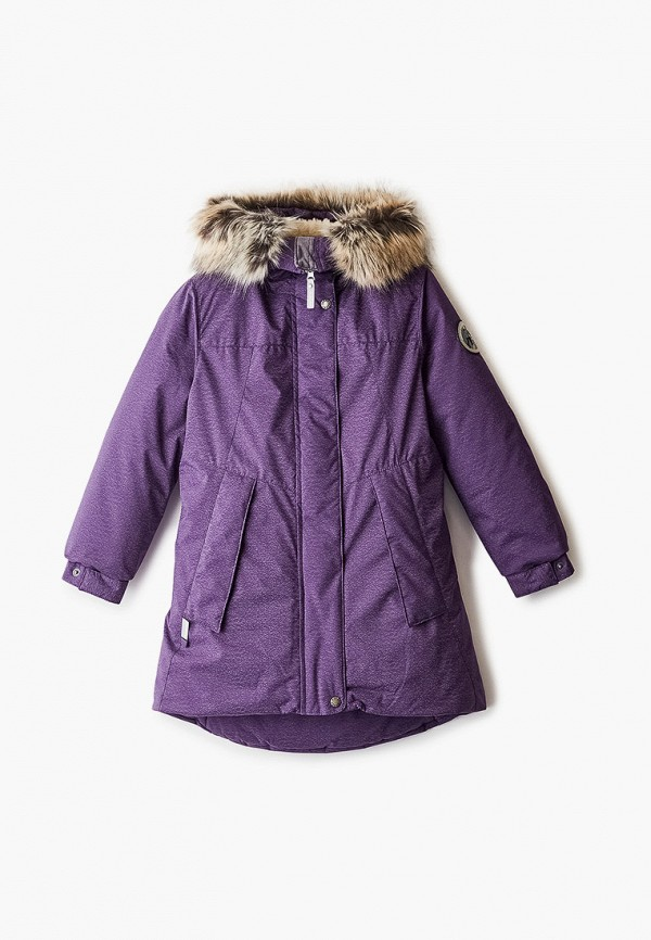 куртка kerry для девочки, фиолетовая