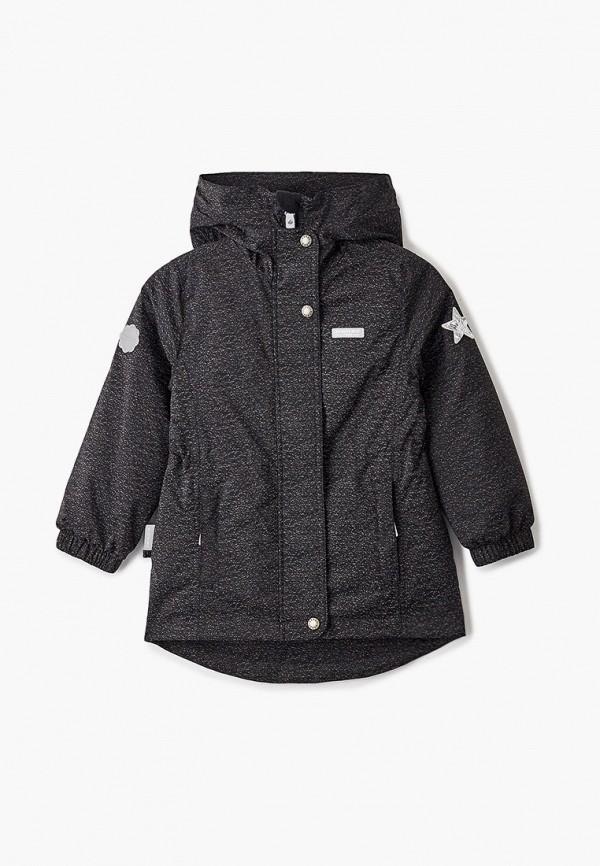 куртка kerry для девочки, черная