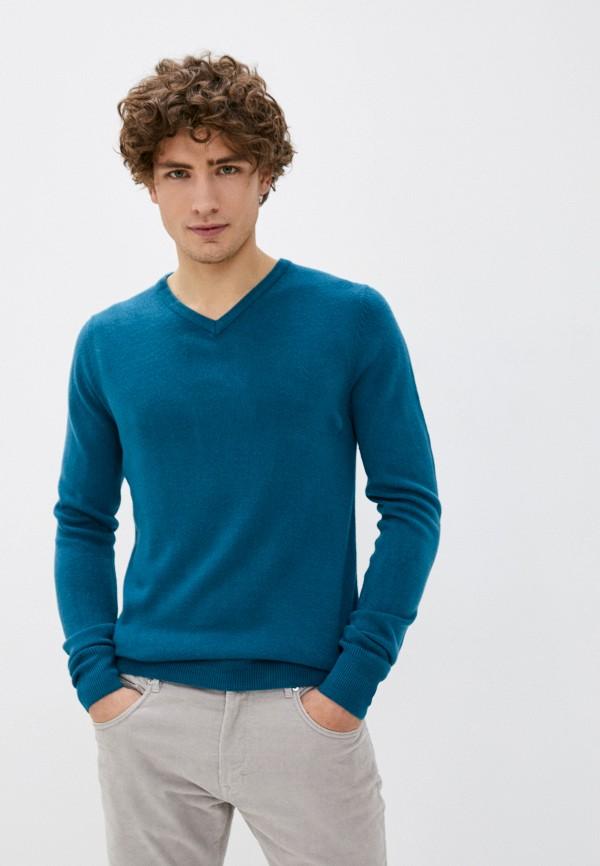 мужской пуловер kensington eastside, бирюзовый