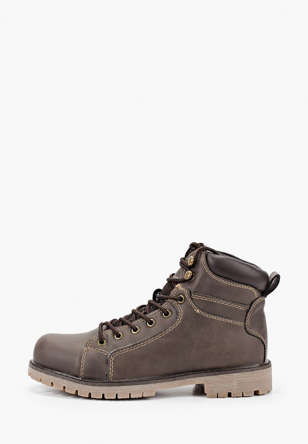 ботинки keddo для мальчика, коричневые