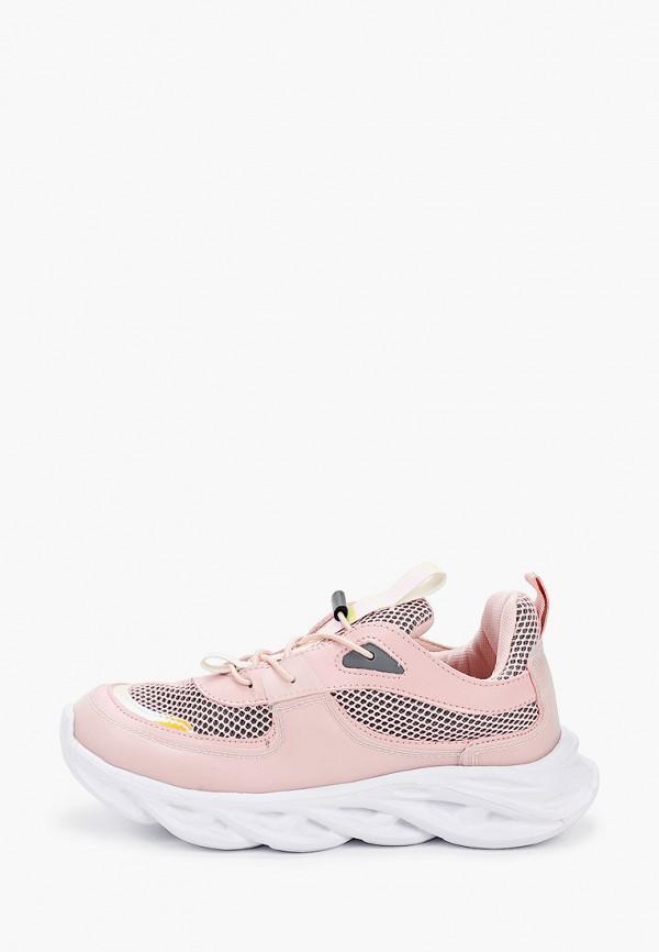 кроссовки keddo для мальчика, розовые