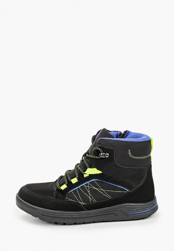 ботинки keddo для мальчика, черные