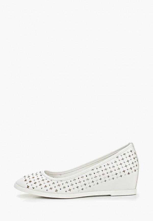 туфли keddo для девочки, белые