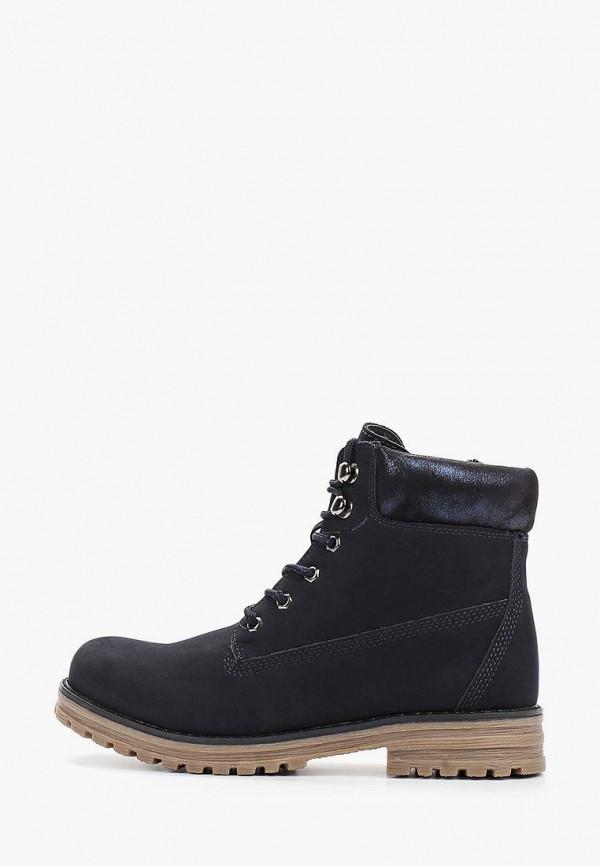 ботинки keddo для девочки, синие