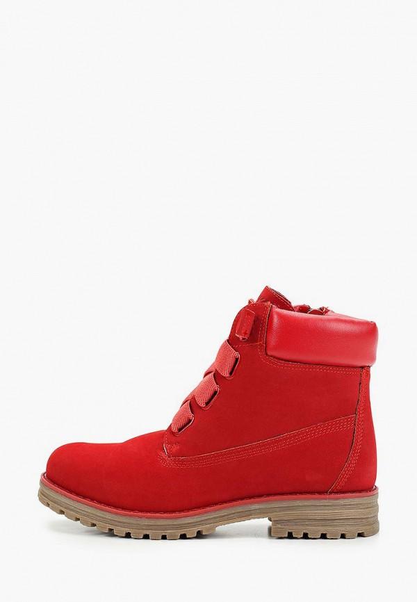 ботинки keddo для девочки, красные