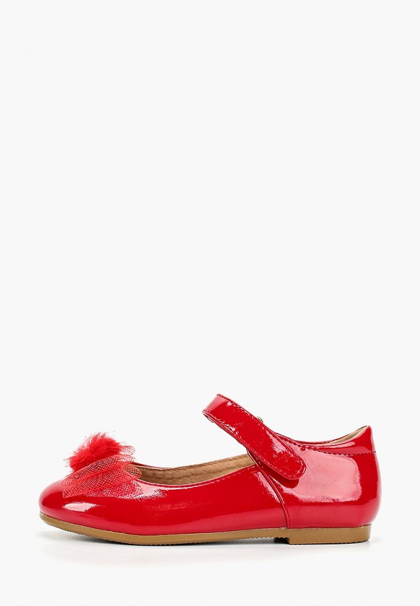 туфли betsy для девочки, красные