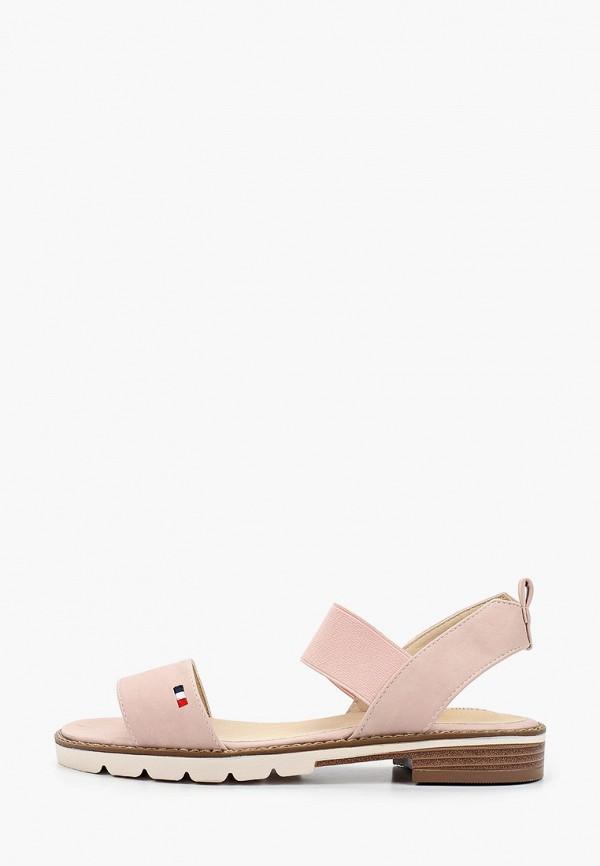 сандалии keddo для девочки, розовые