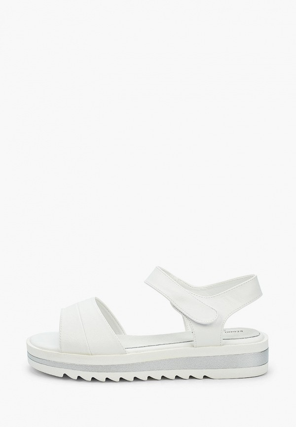 сандалии keddo для девочки, белые