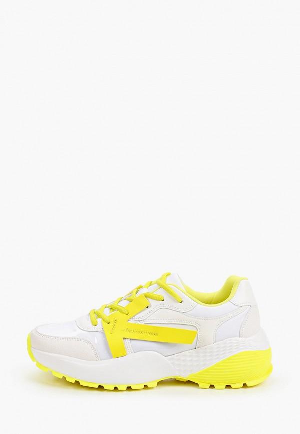 кроссовки keddo для девочки, желтые