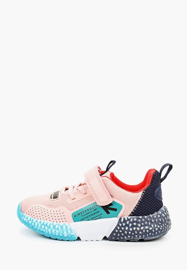 кроссовки keddo для девочки, разноцветные