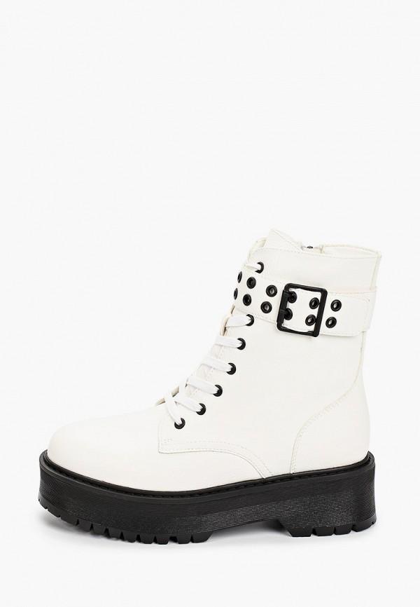 ботинки keddo для девочки, белые