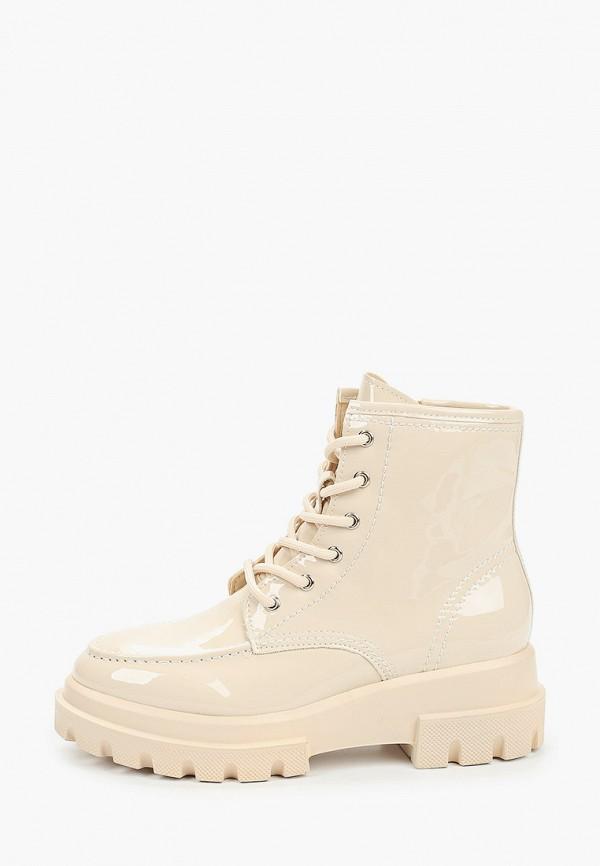 ботинки keddo для девочки, бежевые