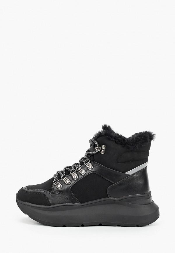 ботинки keddo для девочки, черные