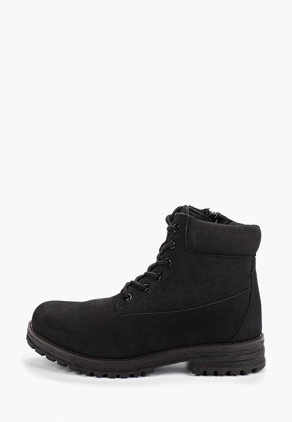 ботинки keddo малыши, черные