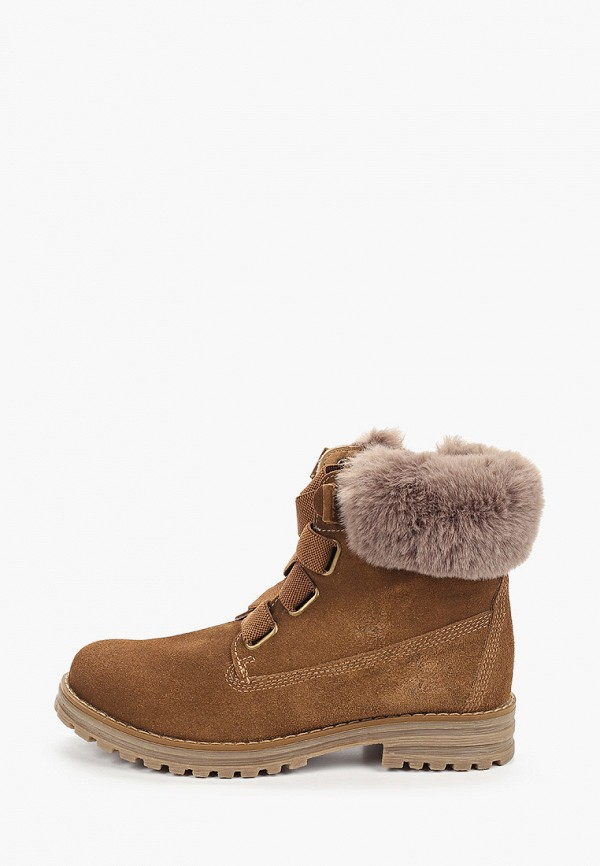 ботинки keddo малыши, коричневые