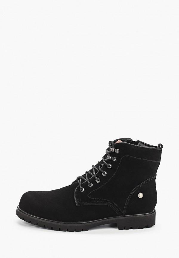 мужские высокие ботинки keddo, черные