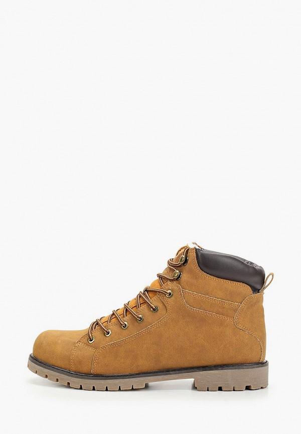 мужские высокие ботинки keddo, коричневые