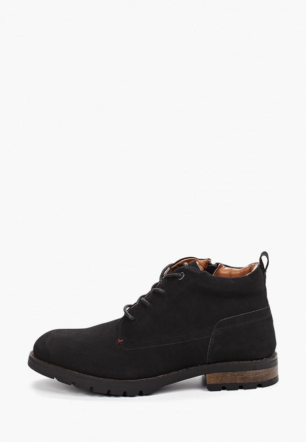 мужские ботинки keddo, черные