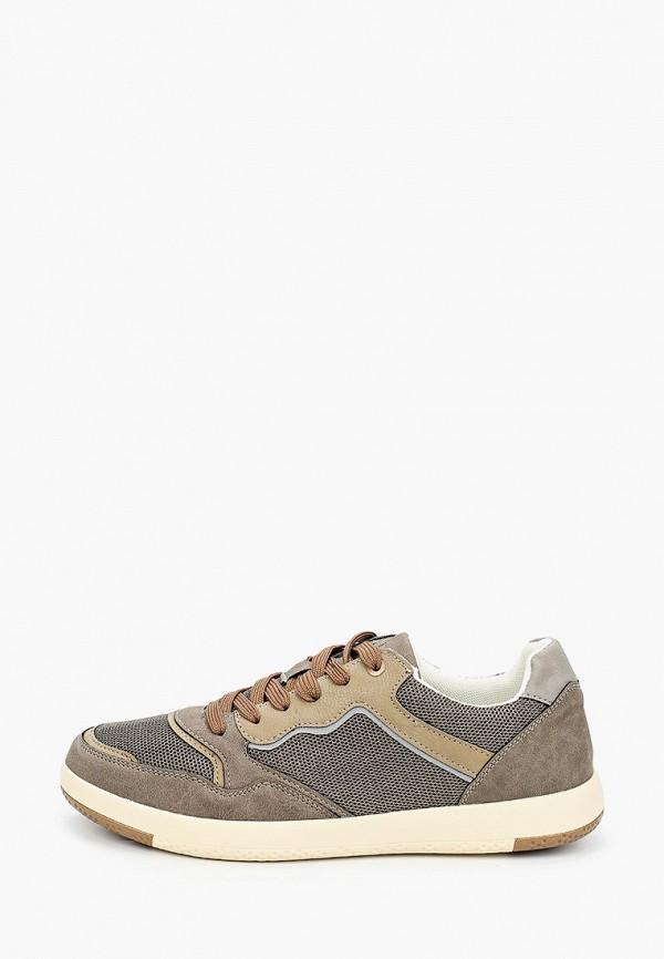 мужские низкие кроссовки keddo, коричневые