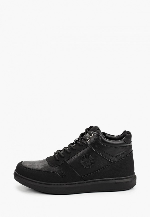 мужские низкие ботинки keddo, черные