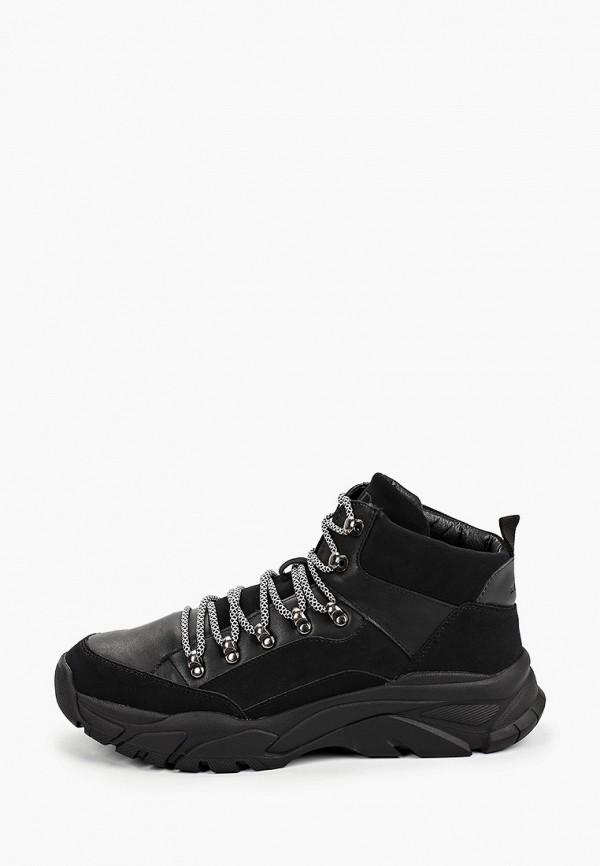 мужские высокие кроссовки keddo, черные