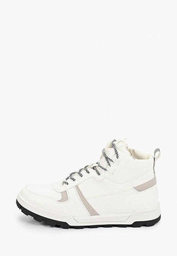мужские высокие кроссовки keddo, белые