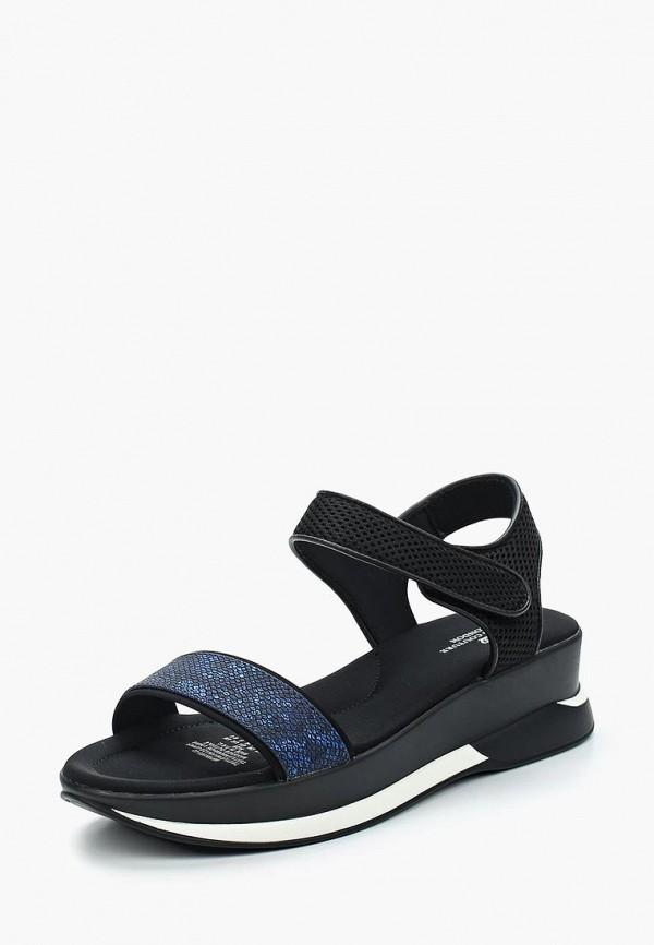 Женские черные сандалии KEDDO