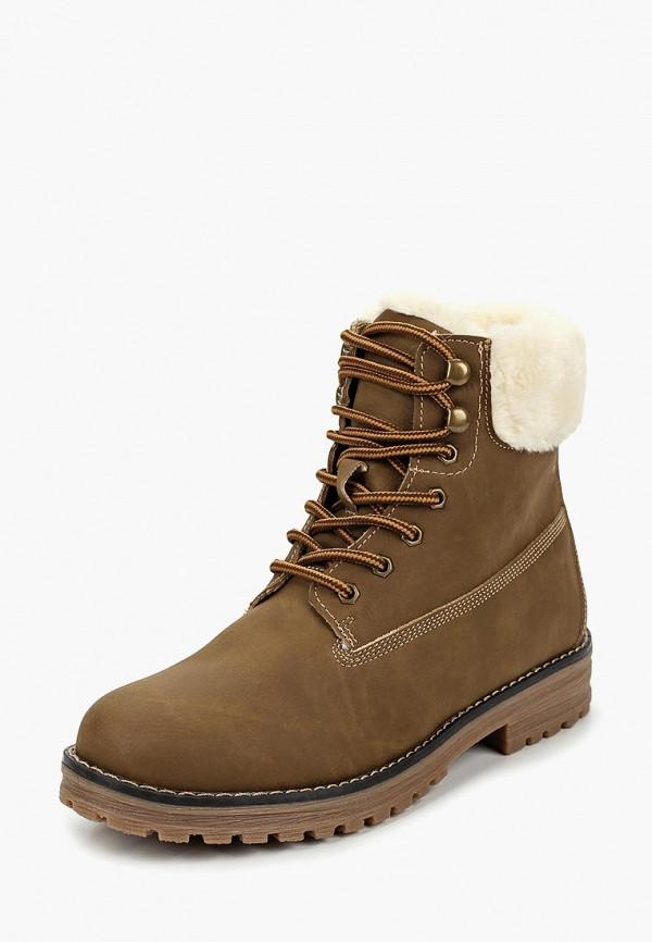 женские ботинки keddo, коричневые