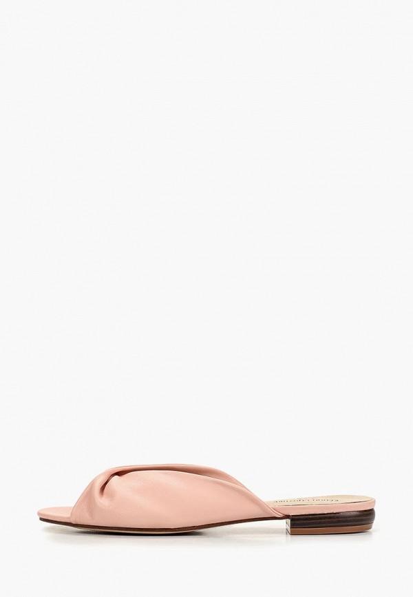 женское сабо keddo, розовое