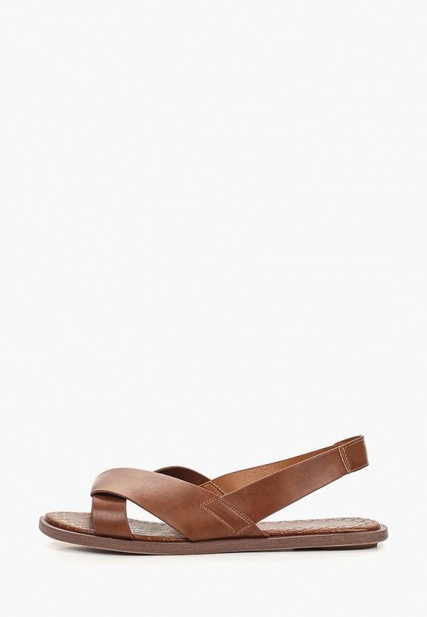 женские сандалии keddo, коричневые
