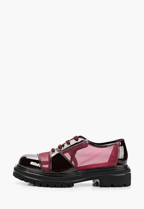 женские ботинки keddo, бордовые