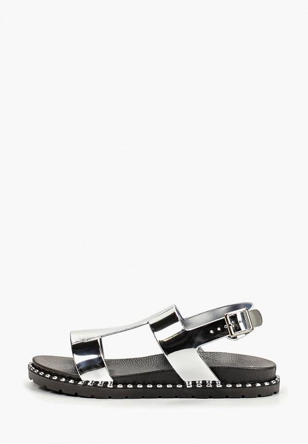 женские сандалии keddo, серебряные