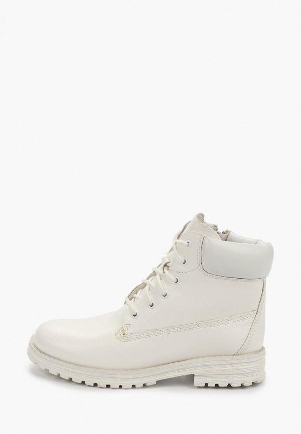 женские высокие ботинки keddo, белые