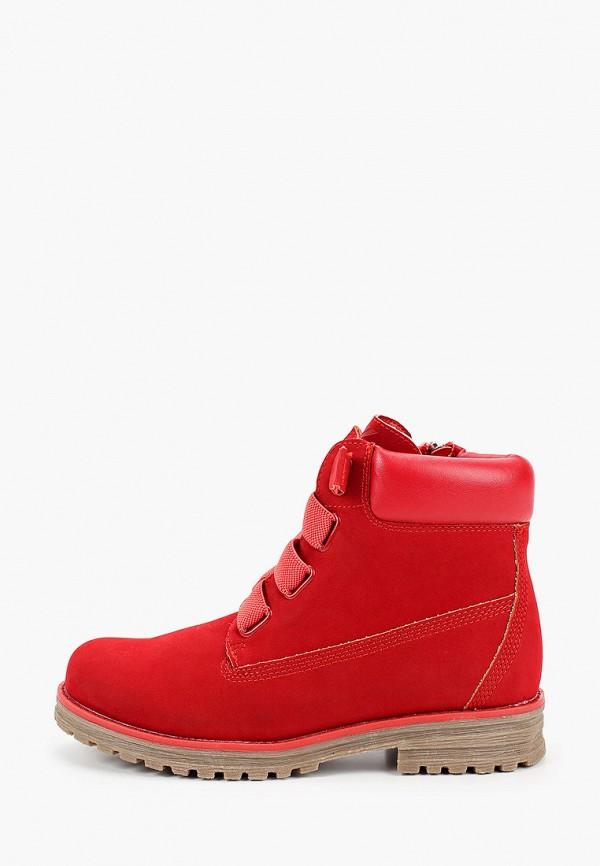 женские высокие ботинки keddo, красные