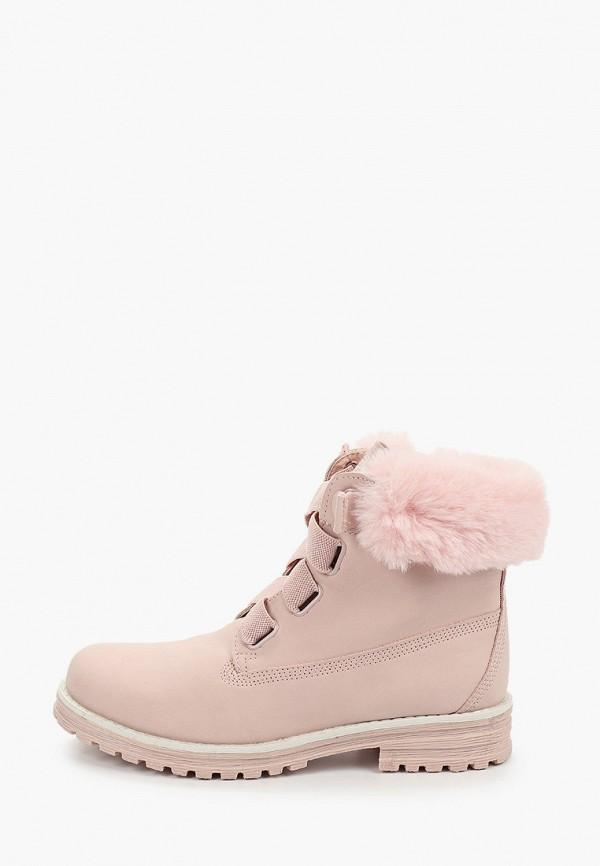 женские ботинки keddo, розовые
