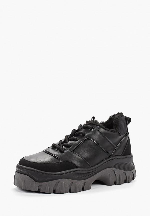 Фото 2 - женские ботинки и полуботинки Keddo черного цвета