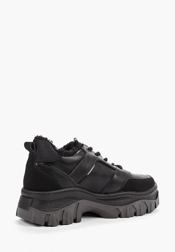 Фото 3 - женские ботинки и полуботинки Keddo черного цвета