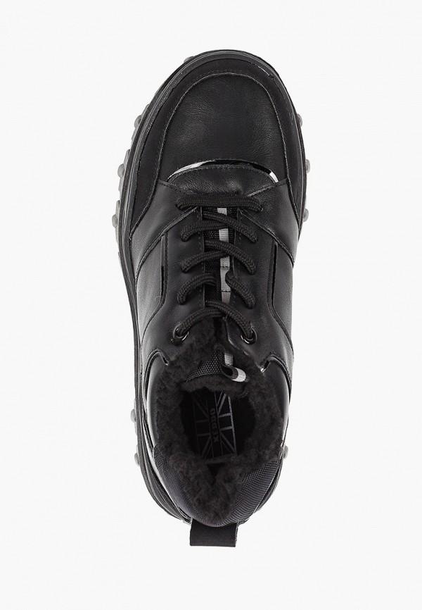 Фото 4 - женские ботинки и полуботинки Keddo черного цвета