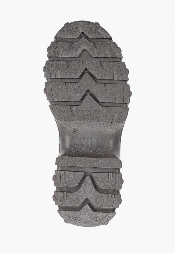 Фото 5 - женские ботинки и полуботинки Keddo черного цвета