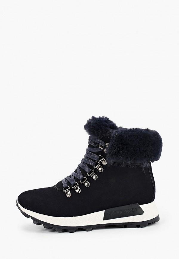 женские ботинки keddo, синие