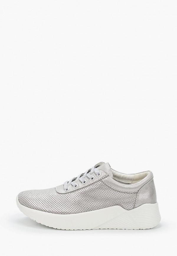 женские кроссовки keddo, серебряные