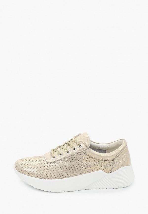 женские кроссовки keddo, золотые