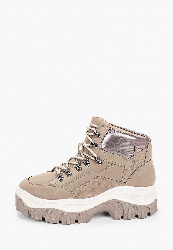 женские ботинки keddo, бежевые