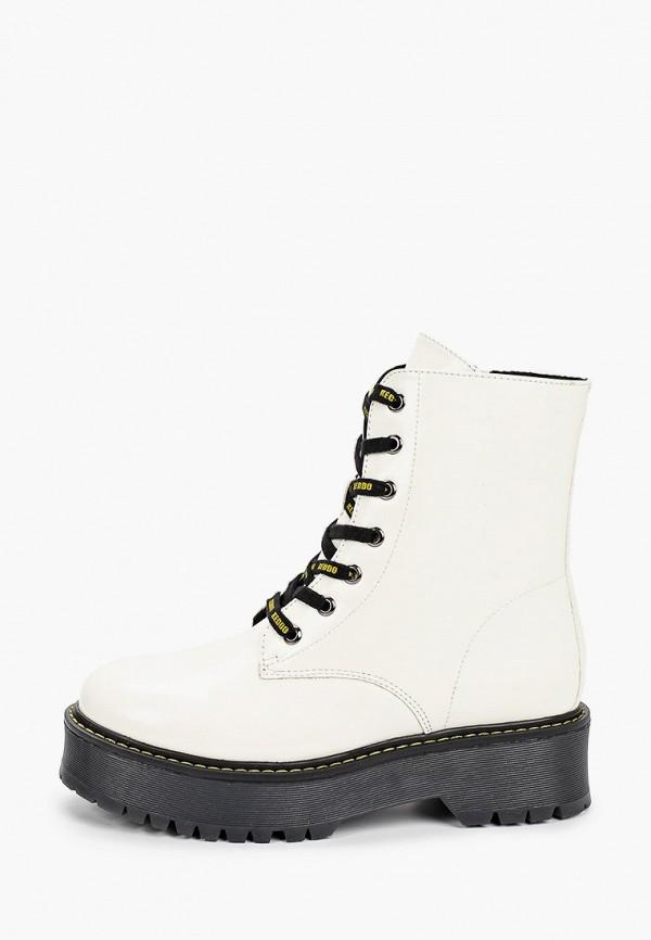 женские ботинки keddo, белые